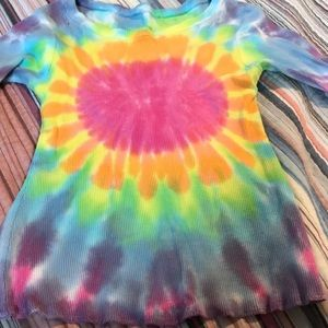Other - New Girls tie-dye shirt.